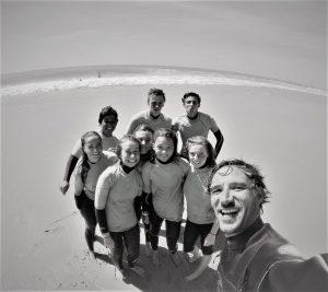surfcamp pour adolescents le porge