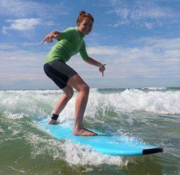 cours de surf le porge océan