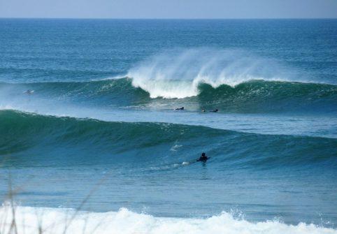 surf le porge ocean, gironde
