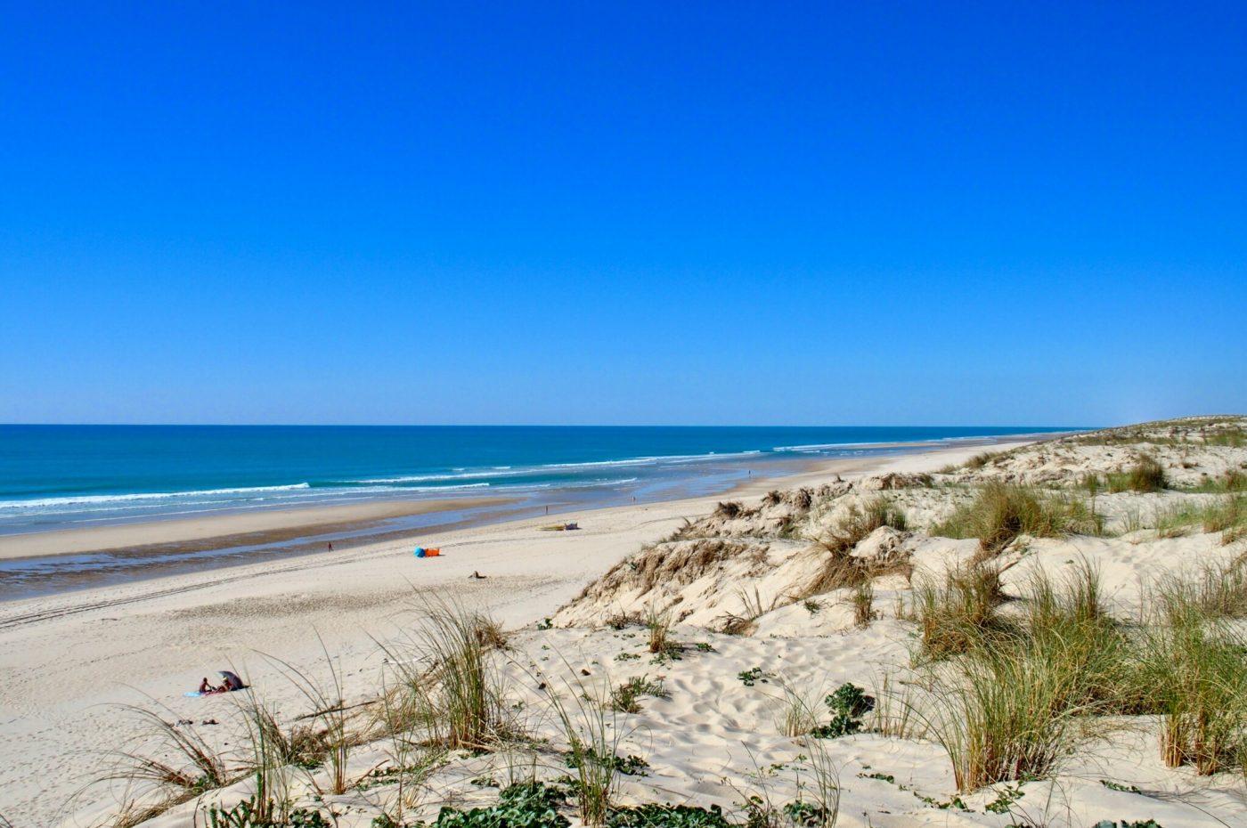 magnifique plage du porge ocean gironde